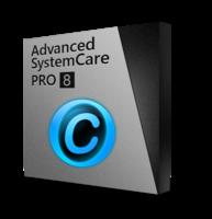 Advanced SystemCare 8 PRO (deux ans / 3 PCs) avec le paquet cadeau – IU+SD Coupon