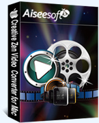 Aiseesoft Creative Zen Video Converter for Mac – 15% Discount