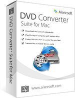 Aiseesoft Studio Aiseesoft DVD Converter Suite for Mac Coupon Code