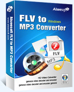 Aiseesoft FLV to MP3 Converter Coupon