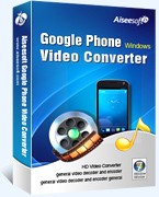 15 Percent – Aiseesoft Google Phone Video Converter