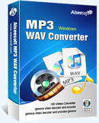 Aiseesoft MP3 WAV Converter – Exclusive 15% Coupon