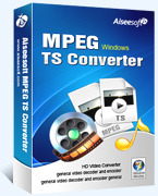Aiseesoft MPEG TS Converter – Exclusive 15% Off Discount