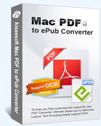 Aiseesoft Mac PDF to ePub Converter – 15% Off