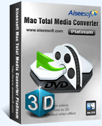 15% Aiseesoft Mac Total Media Converter Platinum Coupon