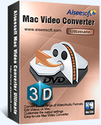 Aiseesoft Mac Video Converter Ultimate LifeTime Coupon – 40%