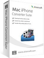 Exclusive Aiseesoft Mac iPhone Converter Suite Coupon