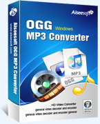 Aiseesoft OGG MP3 Converter Coupon Code