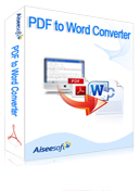 Aiseesoft PDF to Word Converter Coupon Code – 40% Off