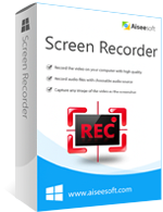 Instant 15% Aiseesoft Screen Recorder Coupon