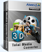 Aiseesoft Total Media Converter Platinum Coupon Code – 40%
