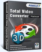 Exclusive Aiseesoft Total Video Converter Platinum (Win/Mac) Coupon Discount