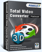 Aiseesoft Total Video Converter Platinum Coupon – 40% OFF