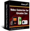 Aiseesoft Video Converter for Creative Zen Coupon – 40%