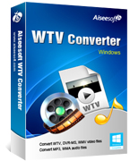 Aiseesoft WTV Converter Coupon Code – 40% Off