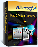 Aiseesoft iPad 2 Video Converter Coupon – 40% OFF