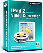 Aiseesoft iPad 2 Video Converter Coupon