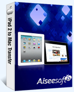 Aiseesoft iPad 2 to Mac Transfer Coupon – 40%