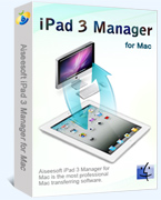 Aiseesoft iPad 3 Manager for Mac Coupon – 40%