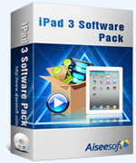 40% Aiseesoft iPad 3 Software Pack Coupon