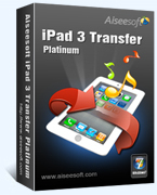 Aiseesoft iPad 3 Transfer Platinum Coupon