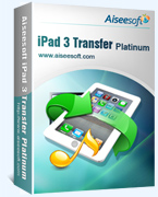 Aiseesoft iPad 3 Transfer Platinum Coupon Code – 40% OFF