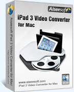 Exclusive Aiseesoft iPad 3 Video Converter for Mac Coupon