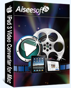 Aiseesoft iPad 3 Video Converter for Mac Coupon – 40%