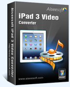 Aiseesoft iPad 3 Video Converter Coupon Code