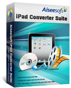 15% Aiseesoft iPad Converter Suite Discount Coupon