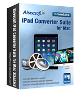 Aiseesoft iPad Converter Suite for Mac Coupon – 40%