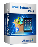 Aiseesoft – Aiseesoft iPad Software Pack Sale