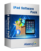 40% Aiseesoft iPad Software Pack Coupon
