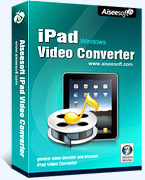 Aiseesoft iPad Video Converter Coupon Code 15%