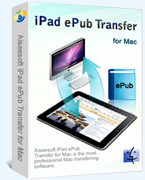 Aiseesoft iPad ePub Transfer for Mac Coupon