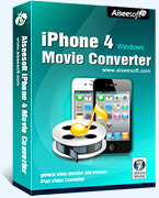 Aiseesoft iPhone 4 Movie Converter – 15% Discount