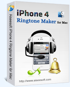 Aiseesoft Aiseesoft iPhone 4 Ringtone Maker for Mac Coupon