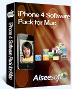Aiseesoft Aiseesoft iPhone 4 Software Pack for Mac Coupon Code