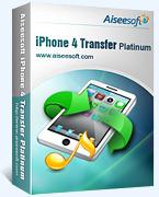 15% Aiseesoft iPhone 4 Transfer Platinum Coupon
