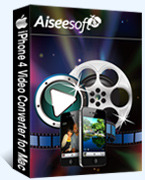Aiseesoft iPhone 4 Video Converter for Mac Coupon