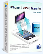 Aiseesoft iPhone 4 ePub Transfer for Mac Coupons 15% Off