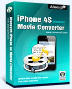 Aiseesoft iPhone 4S Movie Converter Coupons 15%