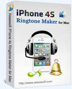 Aiseesoft iPhone 4S Ringtone Maker for Mac Coupon Code – 40%