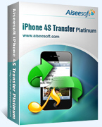 40% Aiseesoft iPhone 4S Transfer Platinum Coupon Code