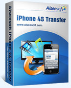 Aiseesoft iPhone 4S Transfer Coupon Code 15%