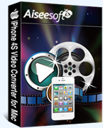 Aiseesoft iPhone 4S Video Converter for Mac Coupon