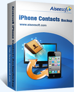 Aiseesoft iPhone Contacts Backup Coupon – 40%