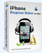 Aiseesoft iPhone Ringtone Maker for Mac – 15% Off