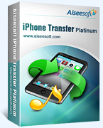 Aiseesoft iPhone Transfer Platinum Coupon – 40% OFF