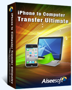 40% Aiseesoft iPhone to Computer Transfer Ultimate Coupon Code